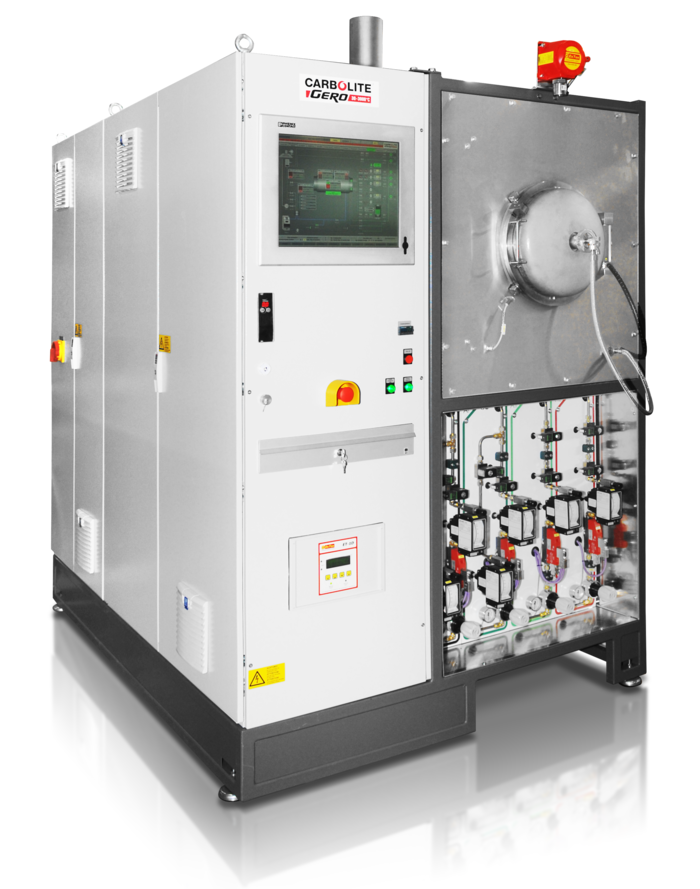 Advanced furnace control with HMI and PLC systems